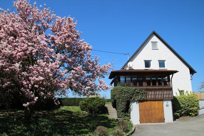Ferienhaus-an-der-Iller Urlaub zwischen Alb und Bodensee, casa vacanza a Aitrach