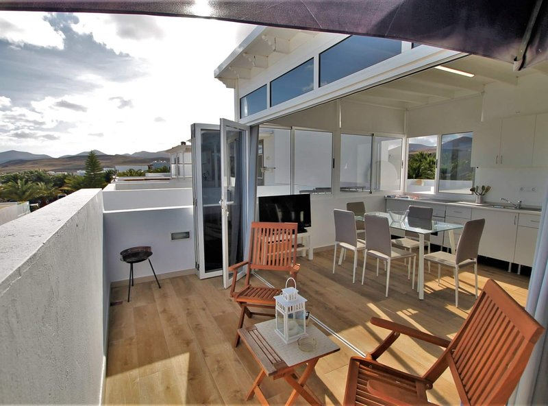 Apartamento con balcon La Vela, alquiler vacacional en Puerto Calero