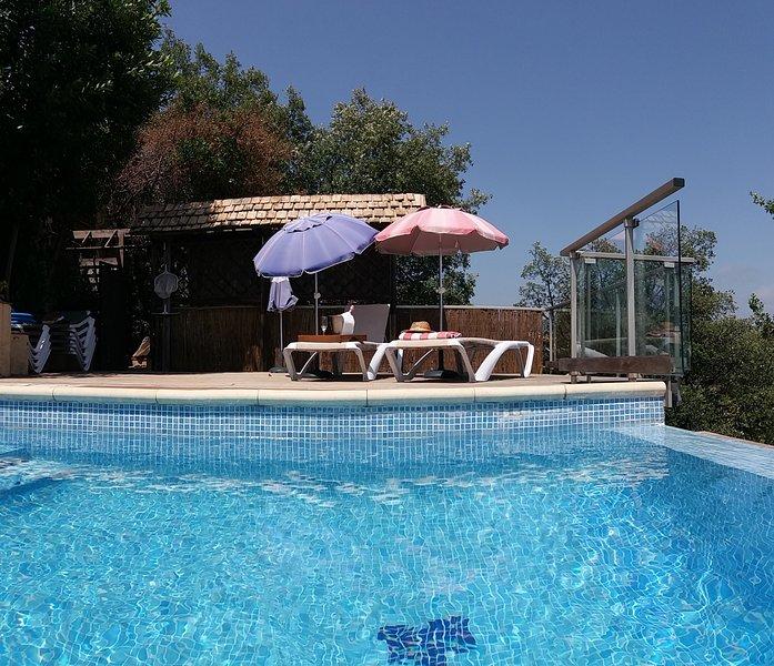 Casa Cal Domino - 4 bedroom luxury Villa, heated infinity pool, jacuzzi, sauna., holiday rental in Calonge