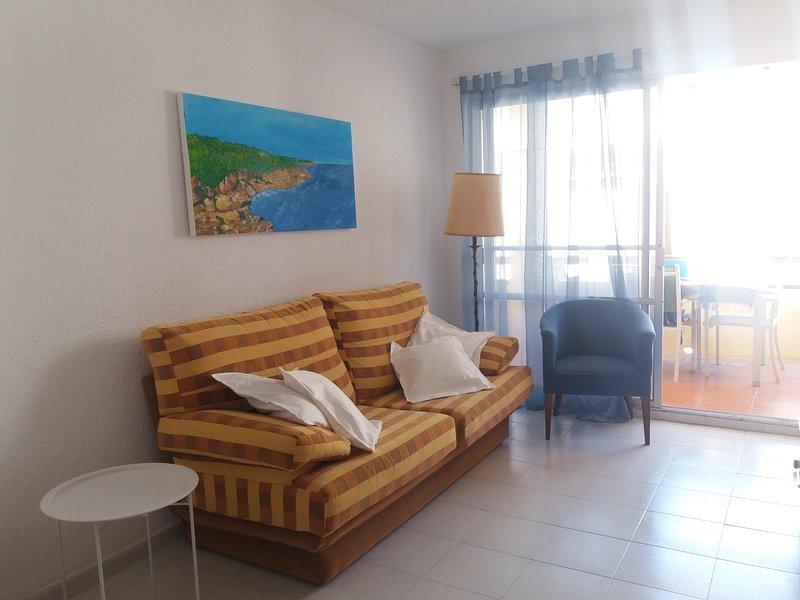 Amazing apartment with shared pool, aluguéis de temporada em Les Cases d'Alcanar