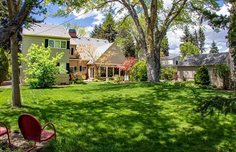 The best back yard in Colorado Springs.