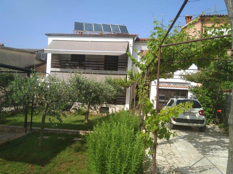 Apartment Tkalec, holiday rental in Pula