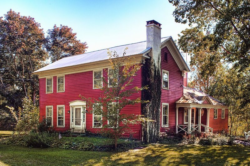 The 1801 Armstrong House: Fine Country Living, location de vacances à South Otselic