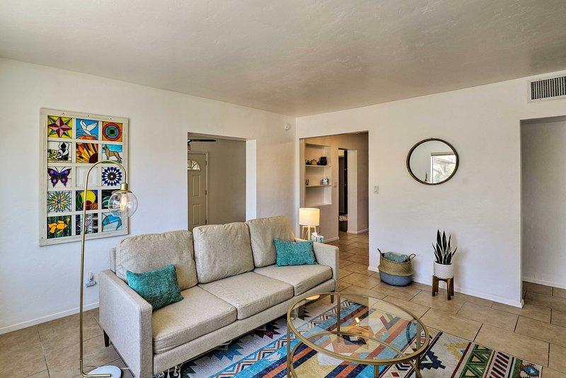 Fuga nello stato del Grand Canyon e goditi una pausa in questa casa vacanza.