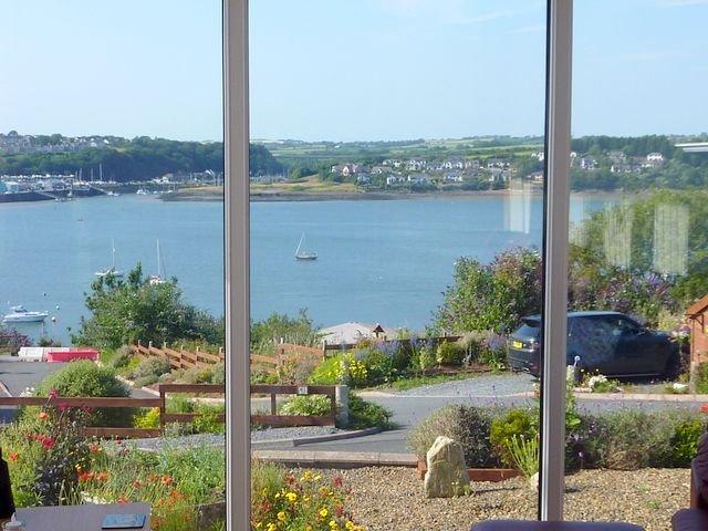 enjoy the waterway view