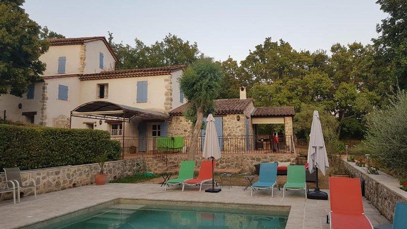 La Petite Bergerie, beautiful and quiet holiday renting on the french riviera, vacation rental in Montauroux