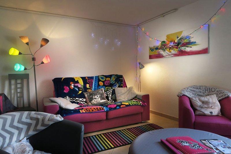 Spacieux Gite 3 ⭐️ ,2 parkings, jardin, situé idéalement Autrans en Vercors, holiday rental in Autrans