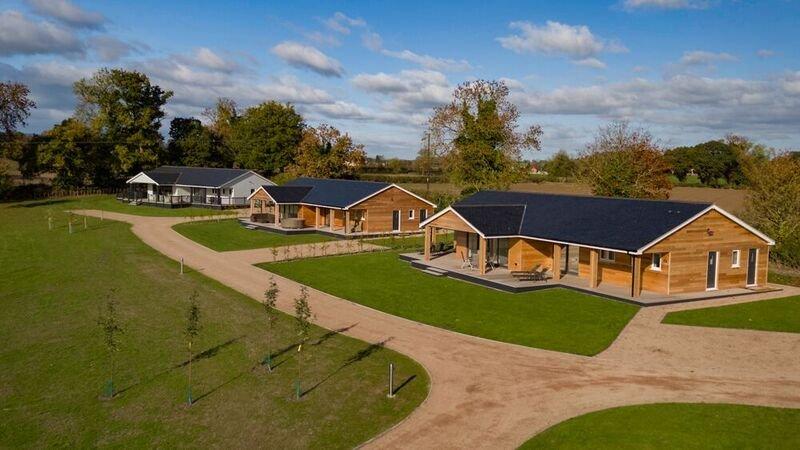 Paddock View Lodges, location de vacances à Llandrinio