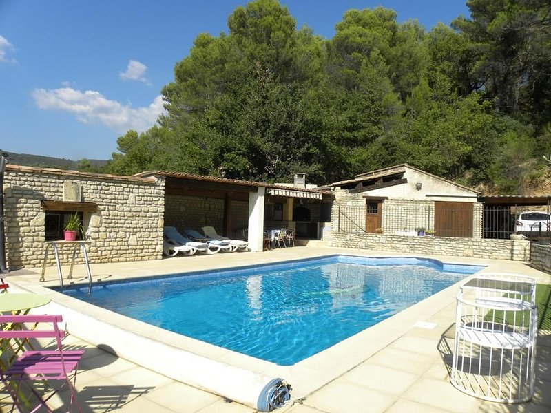 Amazing villa with swimming-pool, holiday rental in Joucas