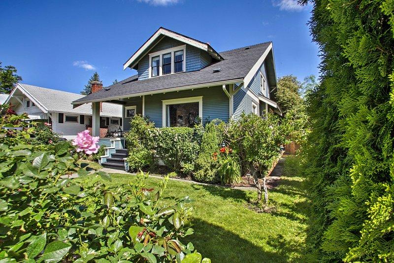 Book your Spokane escape to this 4-bedroom, 2-bathroom vacation rental home!