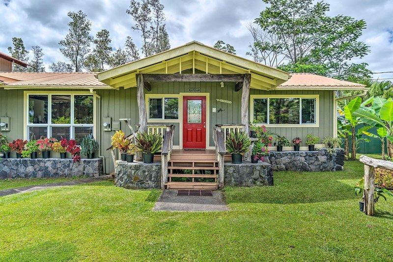 Home w/ Hut ~10 Mi to Hawaiian Beaches Park!, casa vacanza a Kurtistown