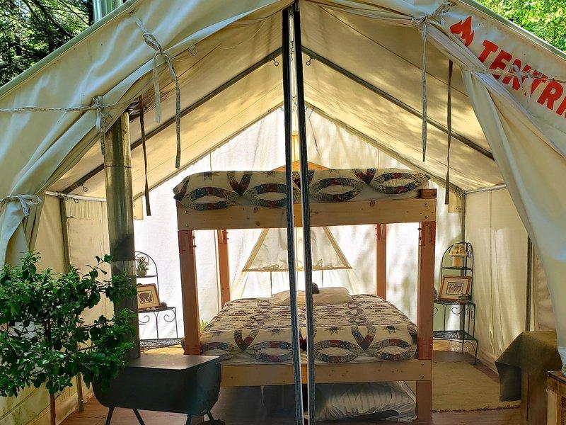 Tentrr Signature Site - Camp Beaver, vacation rental in Aldenville