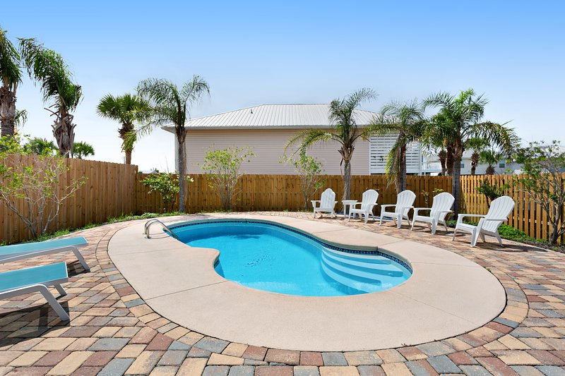 New listing! Coastal getaway w/ private pool, patio, & grill - dogs OK!, vacation rental in Mexico Beach
