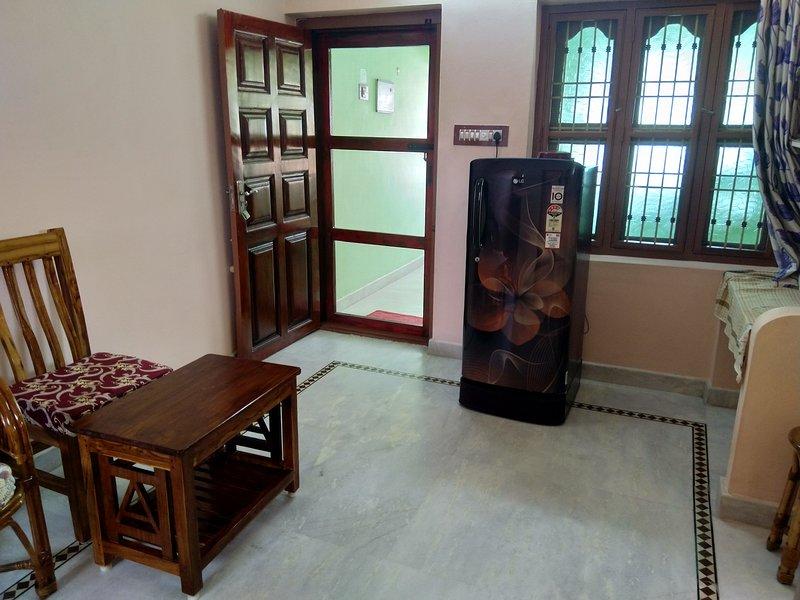 Green House near Ramana Ashram, location de vacances à Thiruvannamalai