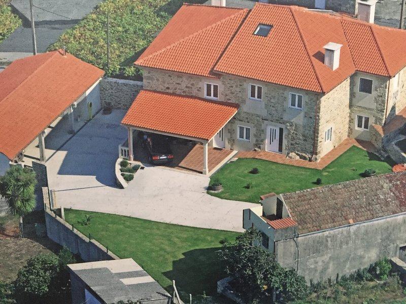 Casa Rústica entorno rural próxima a Santiago de Compostela, alquiler vacacional en A Estrada
