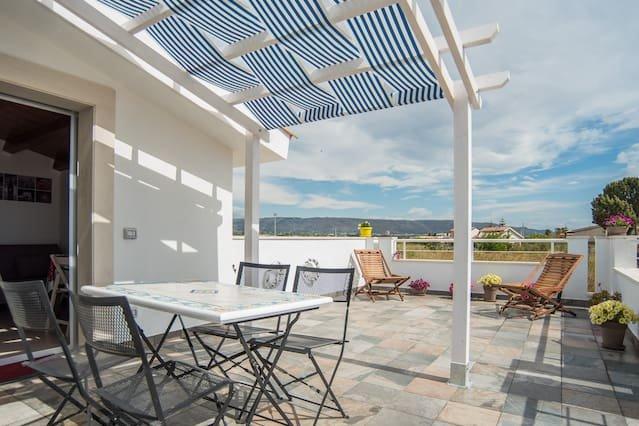 Nice apartment in Calabernardo, holiday rental in Piccio