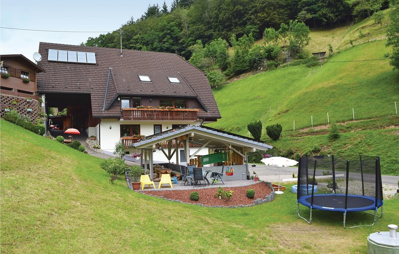 Beautiful home in B. Peterstal-Griesbach with Sauna, WiFi and 1 Bedrooms (DBW105, holiday rental in Oppenau