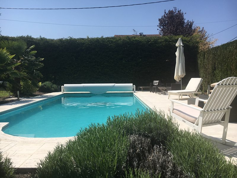 Amazing villa with swimming-pool, vacation rental in Tolochenaz