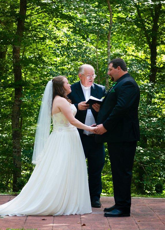 September Wedding in the Woods