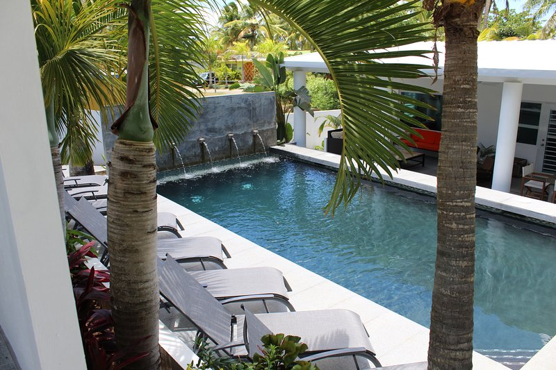 Palm Cottages - The Pool Cottage - LUSH TROPICAL PARADISE, vacation rental in Isla de Vieques