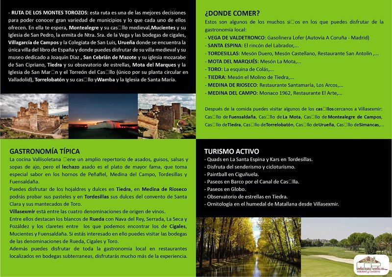 informacion de lindascasasrurales, casas lindos huespedes y casas pin  desde Valladolid y Cantabria
