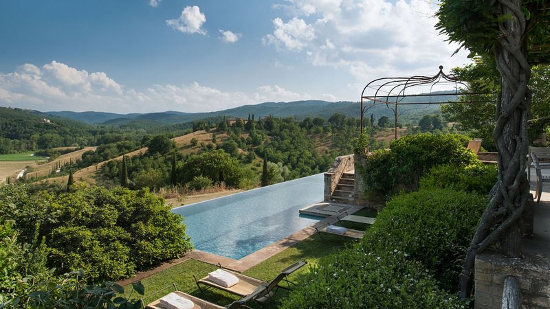 Luxury villa Barco, vacation rental in Lisciano Niccone
