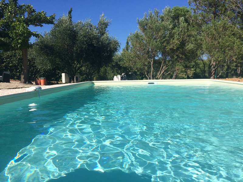Spacious villa with swimming-pool, holiday rental in Paziols