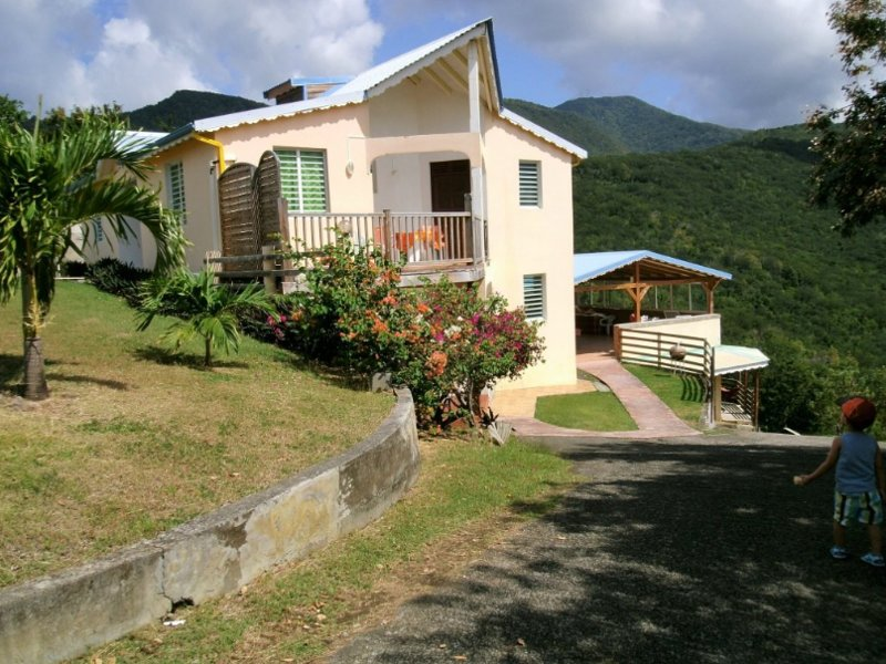 Beautiful house with shared pool, holiday rental in Mahaut