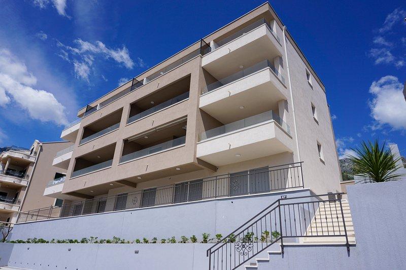 Sol Rooftop Apartments Tucepi (S2- Golden View), alquiler de vacaciones en Tucepi