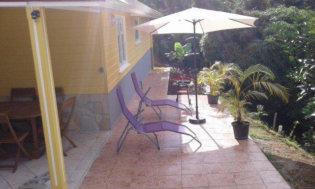 Nice apartment with terrace & Wifi, location de vacances à Riviere-Pilote