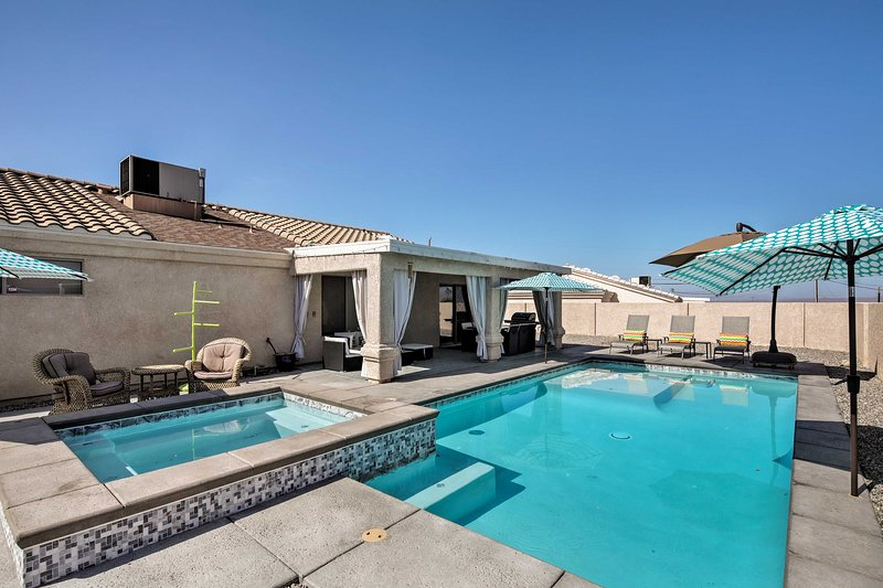 Escape to Lake Havasu City and spend your days beside this brand new pool.