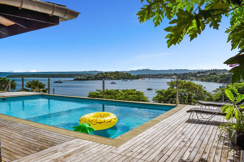 4 bedroom house with magical views of ocean, holiday rental in Vanuatu