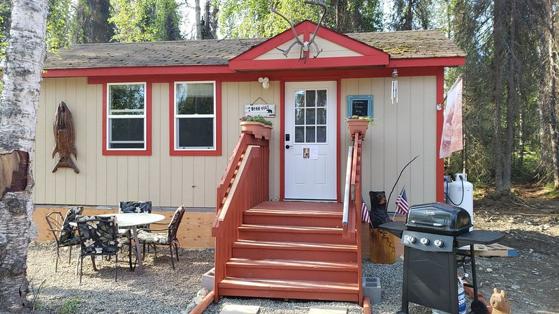 Mooseberry Cabin at Nancy Lake, casa vacanza a Willow