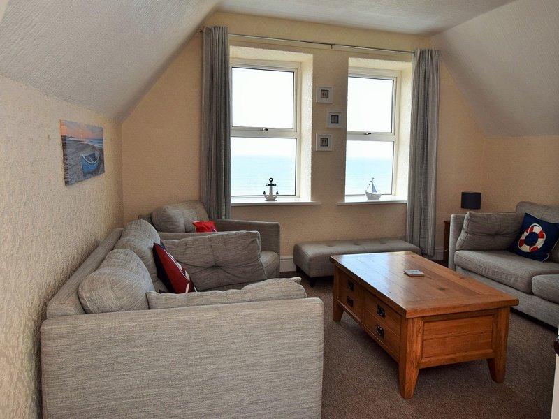 Lounge with seaviews