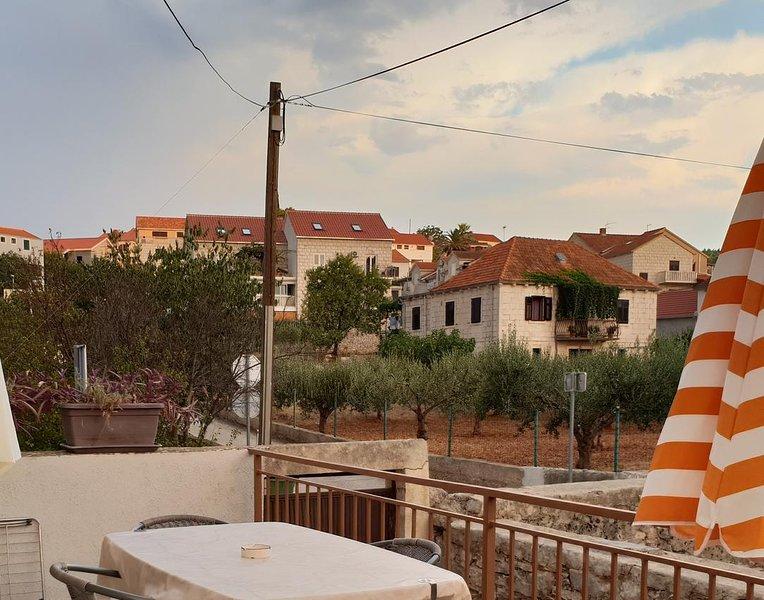 Vista a la terraza