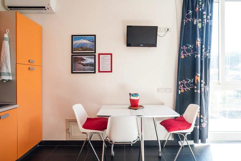 Beautiful studio in Nicolosi & Wifi, holiday rental in Nicolosi