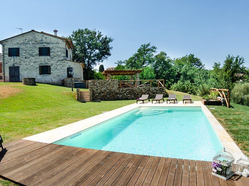 San Leonardo Villa Sleeps 6 with Pool Air Con and WiFi - 5247706, holiday rental in San Ginese
