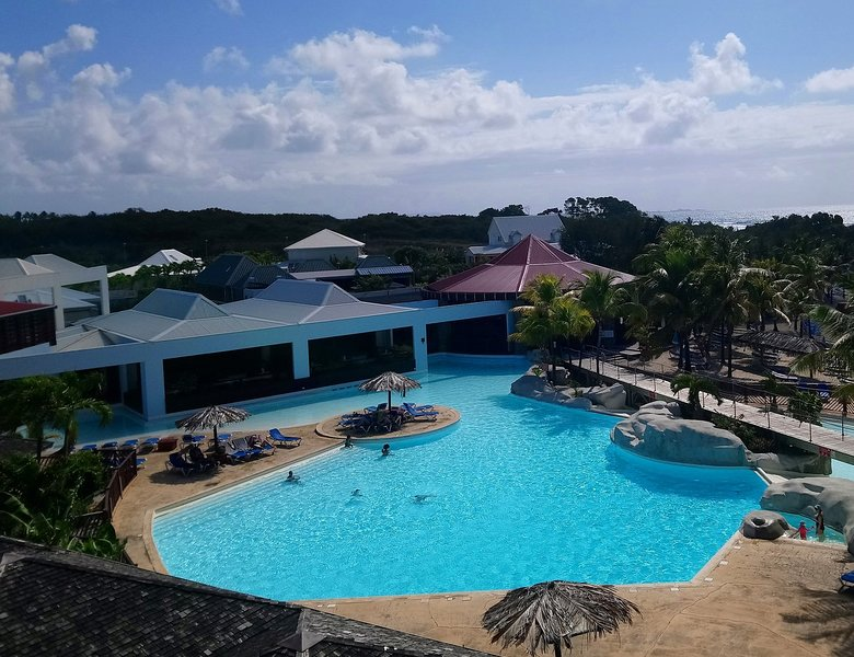PtiManganao rental studio by the sea and pool Saint-François Guadeloupe