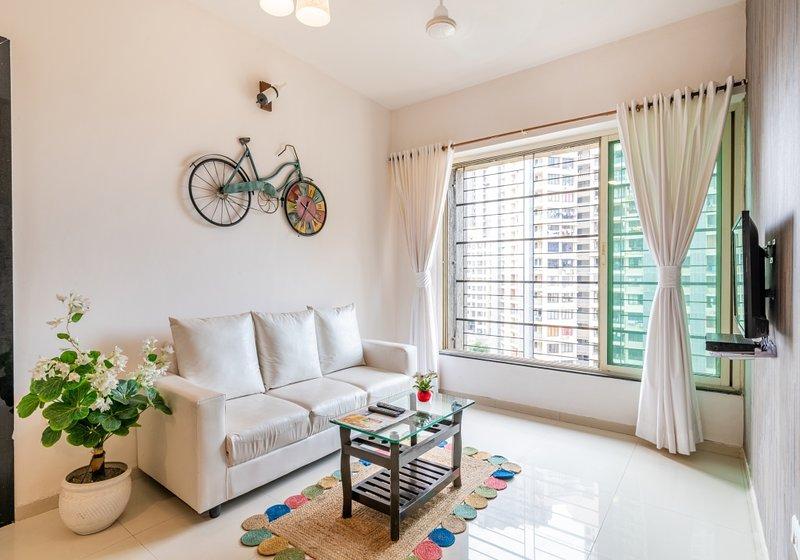 Spanish Style - 2 BHK Apartment, alquiler de vacaciones en Thane
