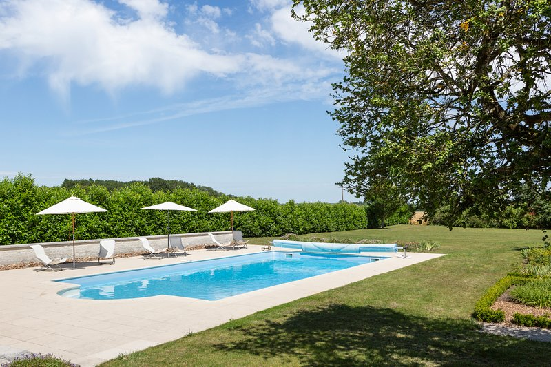 Chizeray Chateau Sleeps 14 with Pool - 5049810, holiday rental in Jaulnay