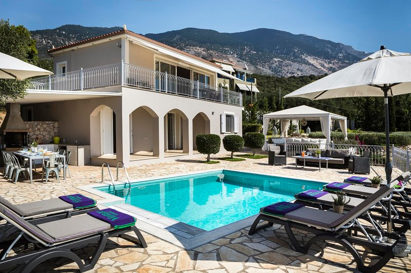 Mousata Villa Sleeps 6 with Pool Air Con and WiFi - 5604828, vacation rental in Mousata
