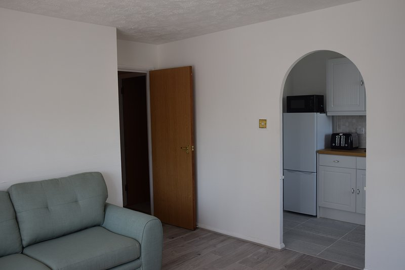 1 Bedroom apart., London, 3min. walk Train Station, 23 min. Train to City Centre, casa vacanza a Broxbourne