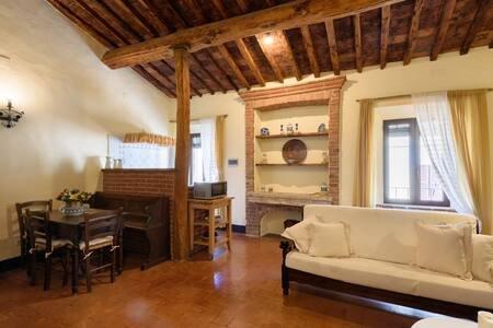 Agriturismo San Martino - La casa del Gallo, location de vacances à Montisi