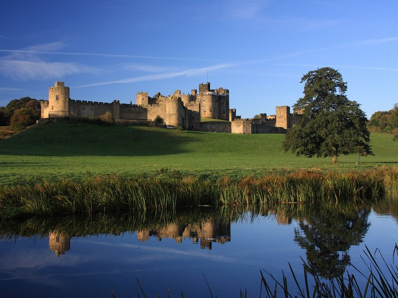 Visit the popular Alnwick Castle