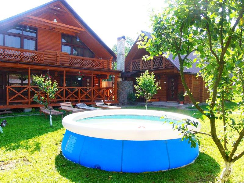 Guest House Family is Green, location de vacances à Zakarpattia Oblast