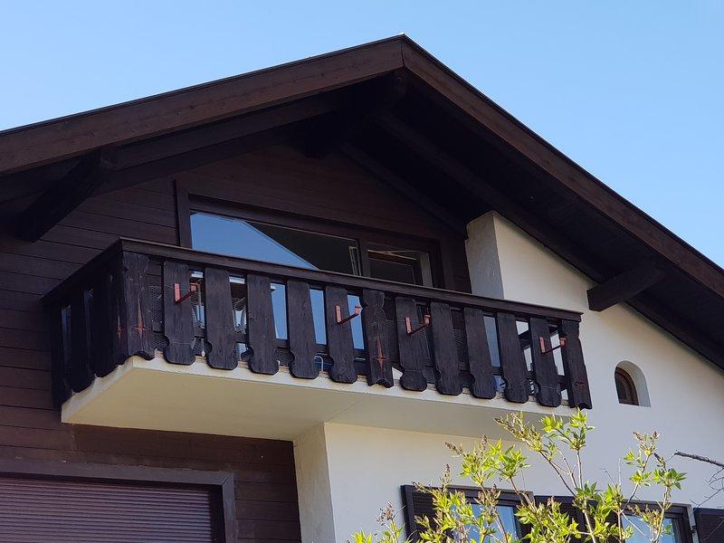 Balkon Apartment Alpspitz