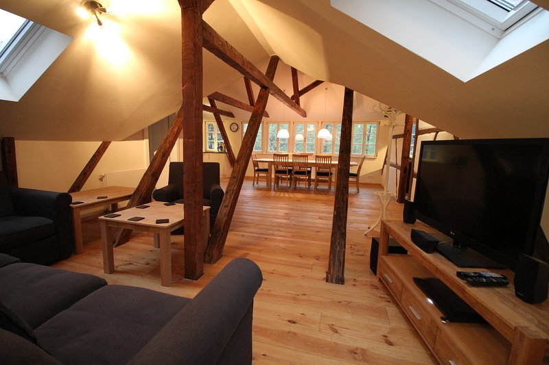 Felsenkeller Bielatal 'Berthablick', vacation rental in Decin