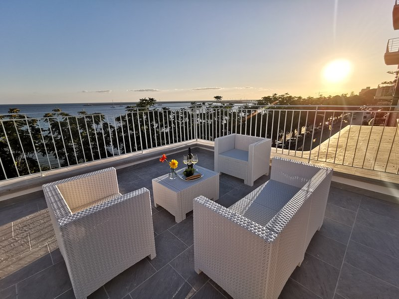 Sunset Terrace Mazara - Studio (sea view), vacation rental in Mazara del Vallo