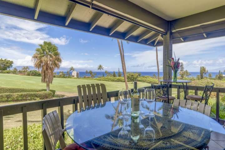 Ka'anapali Plantation #12 - overlooking the Ka'anapali Golf Course with lovely ocean views