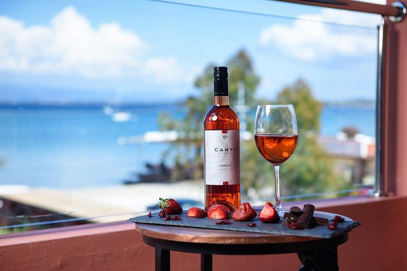 Corfu Seaview Maisonette - Sopra IL Mare, holiday rental in Vitalades